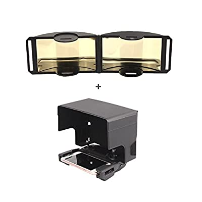 Hensych® Signal Booster Foldable Antenna Amplifier Range Extender/ Sunshade Sun Hood for DJI MAVIC PRO / DJI Spark Remote Controller
