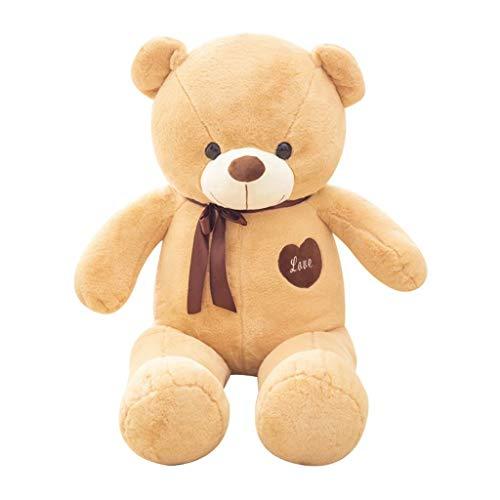 RUBB Riesiger Teddybär Großer Teddybär Extra Große Plüsch Bär Spielzeug Geburtstag Weihnachten Valentinstag (120-180 cm, Hellgelb) (größe : 120cm) (Extra Großer Teddybär)