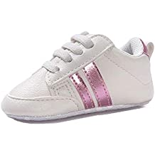 Amlaiworld Zapatos de bebé Primeros Pasos Calzado Deportivo de Cuero Antideslizante Inferior Suave para