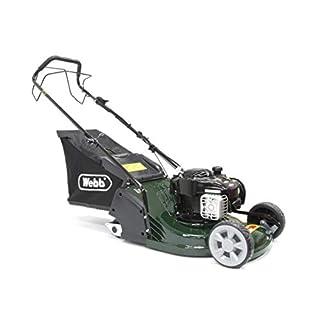 Webb WERR17SP 'Supreme' Self-Propelled Petrol Rear-Roller Lawnmower