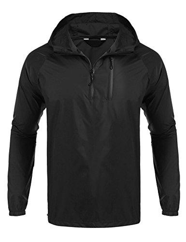 FastDirect Unisex Casual Packable Outdoor Waterproof Hooded Raincoat Jacket Poncho Rainsuit