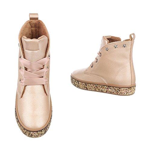 Bottines Braun Bottes A Ital Design Femme Chaussures Et Compensé rwRqBCr