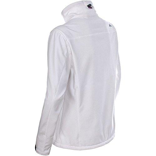 Trespass Homelake Veste en tissu Softshell pour femme White