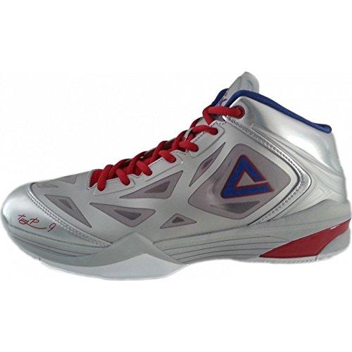 Chaussures PEAK TP9 Quickness Gris Argent Argent