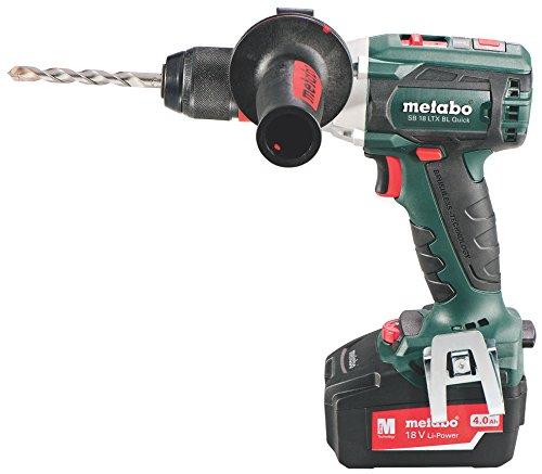 Preisvergleich Produktbild Metabo SB 18 LTX BL Quick Akku-Schlagbohrmaschine TV00, 602199500