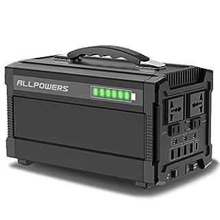 ALLPOWERS Générateur Solaire 288Wh/78000mAh Générateur Portable Power Inverter AC 220V USB C 12V DC Portable Générateur Batterie Panneau Solaire pour Secours Énergie mémoir/Batterie Externe