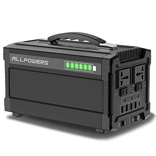 El generador de alta capacidad ALLPOWERS satisface todas sus necesidades   Con un extraordinario 288 vatios-hora de energía, utilizando solo componentes de primera calidad y la tecnología más avanzada de administración de energía, el generador solar...