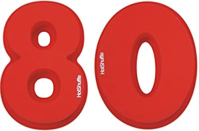 Large Silicone Number 80 Cake Tin Mould 80th Birthday Wedding Anniversary 8 0