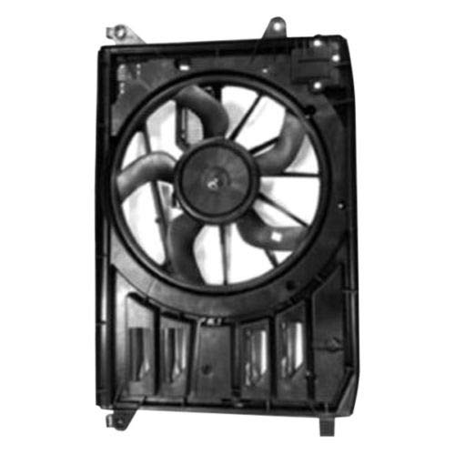 TYC Products 623180 Dual Radiator and Condenser Fan Assembly