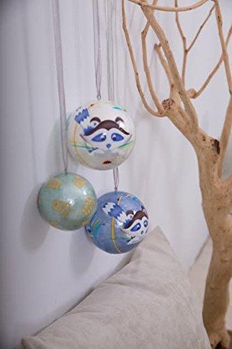 Grande boule décorée - L'Oiseau Bateau