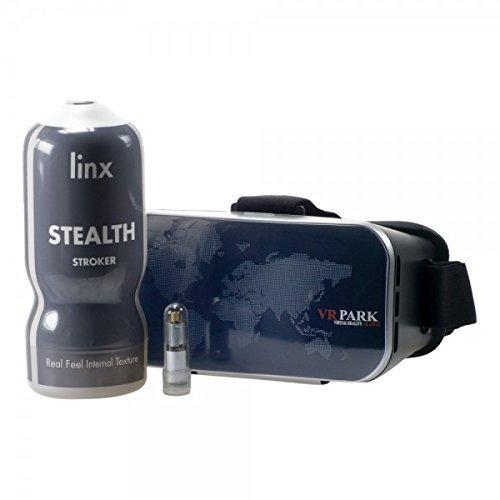 Linx Cyber Pro vibrierender männlichen Masturbator und VR Headset
