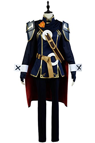 g Fates Lucina Battle Suit Cosplay Kostüm Damen Blau L (Fire Emblem Awakening Cosplay Kostüme)