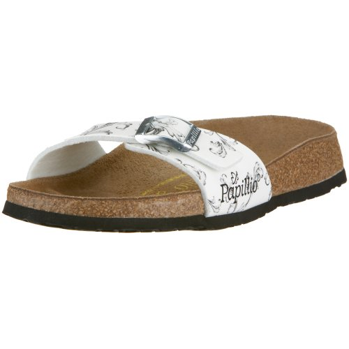 Papillo by Birkenstock Madrid Dreamland rose 133403, Zoccoli, Donna, Weiß, 35