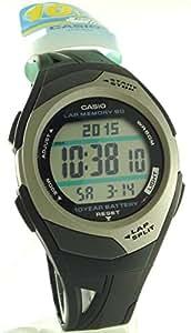 Casio STR300C-1VER Montre pour homme avec mémoire de chronométrage 60 tours