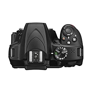 Nikon D3400 Digital Camera Body (Black) with Card and DSLR Bag