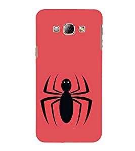Vizagbeats Spider Back Case Cover for Samsung Galaxy A8::Samsung A8 2015