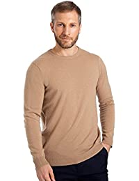 Wool Overs Pull col rond homme cachemire mérinos