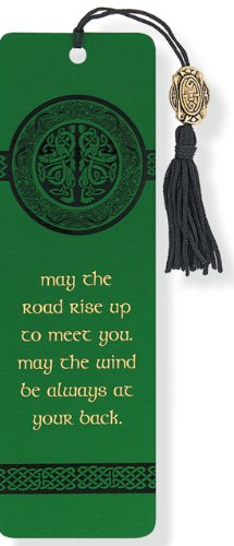 Beaded bookmark celtic