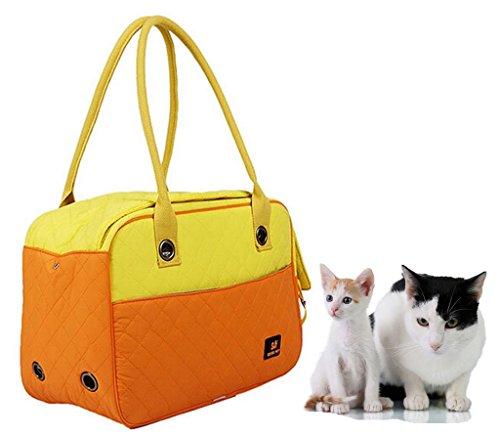 Lesypet Cat Carriers Hund Träger, Weich Hündchen Puppy Reisen Tasche Handtasche
