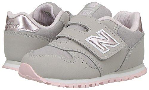New Balance 373v1 Sneaker Unisex Bambini Grigio Grey/Pink 30 EU