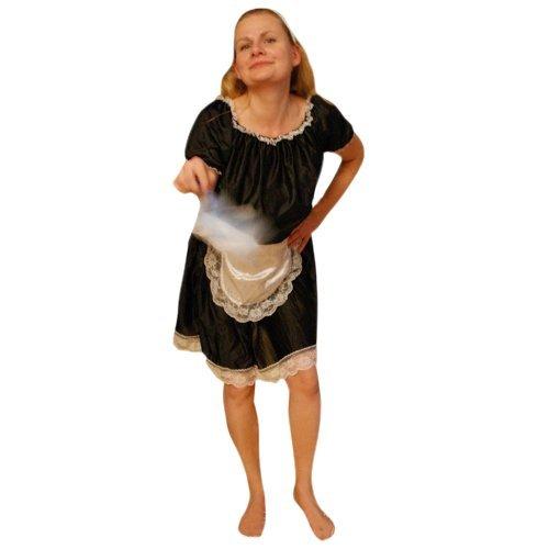 Kostüm Zimmermädchen Dienstmädchenkostüme Fasching Karneval (Männer Dienstmädchen-kostüm)
