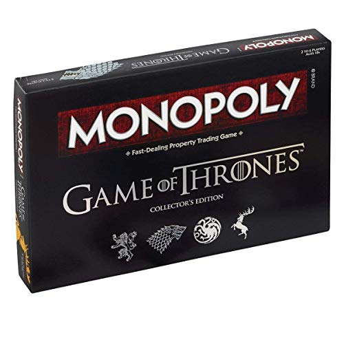 Game Of Thrones Oficial Edición Monopoly