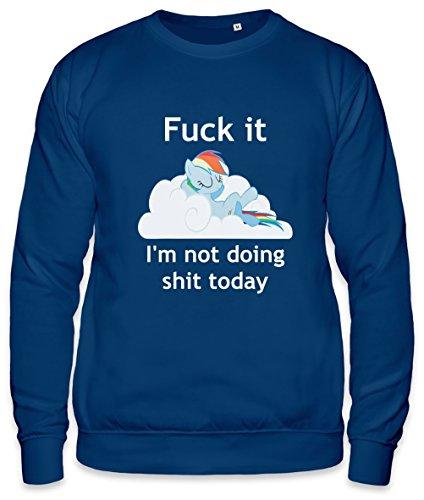 Rainbow Dash Does No Shit Unisex Sweatshirt Medium Doe T-shirts