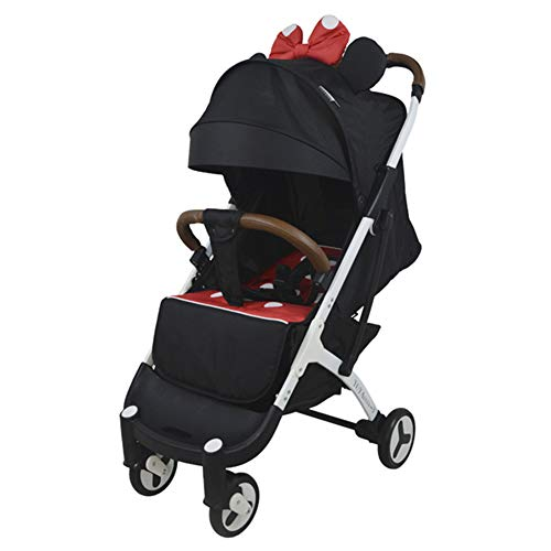 Ocamo YOYA PLUS3 Baby Stroller One-button Foldable Stroller Minnie