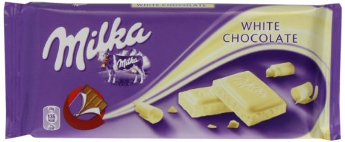 Price comparison product image Milka White Chocolate 100 g (Pack of 22)