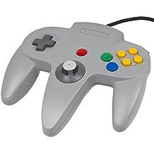 Link ®: grigio Joystick per Nintendo 64 console N64 (joystick, pad, controller, retrogaming ...)