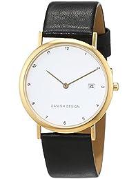 Danish Design Damen-Armbanduhr IQ10Q272 Analog Quarz Leder IQ10Q272