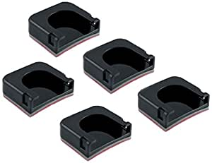 Drift Innovation Curved Adhesive Mounts X 5 - Black