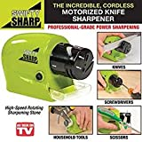 #4: Swifty Sharp Motorized Knife Sharpener and Includes CATCH-TRAY for Metal Shavings