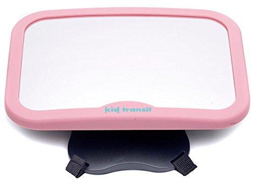 Specchietto retrovisore da auto per bambini rosa – uno specchietto di alta qualità, stabile, ampio e sicuro, pensato specificamente per l'auto. kid transit