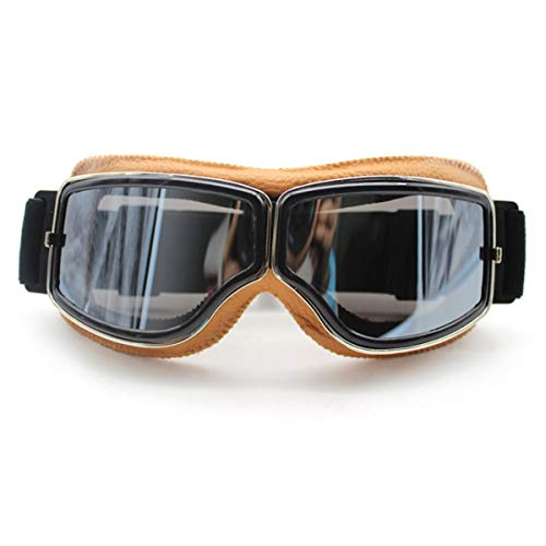 WENDAN Brille Skifahren Reiten Motorrad staubdichte Ski-Sonnenbrillen Motocross-Brille Winddicht Langlauf-Brille, B