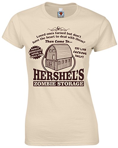 Bullshirt Damen Hershel 's Zombie Aufbewahrung T-Shirt Sand