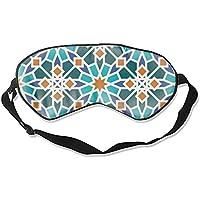 Schlafende Augenmaske, Farben Islamisches Mosaik-Design, Augenbinde, Schlafrollo, für Männer und Frauen preisvergleich bei billige-tabletten.eu