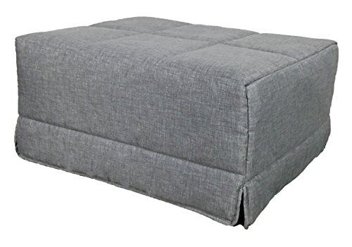 Sillon convertible en cama plegable ideal para ahorrar espacio, tela c