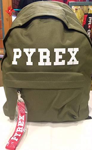 Zaino verde pyrex