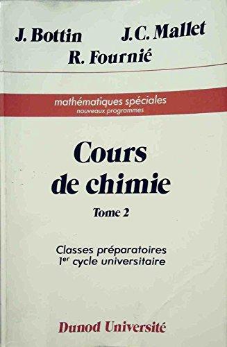 Cours de chimie, tome 2