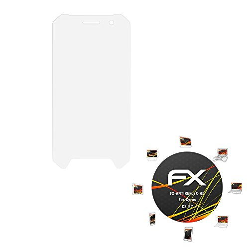 atFolix Schutzfolie kompatibel mit Cyrus CS 27 Bildschirmschutzfolie, HD-Entspiegelung FX Folie (3X)