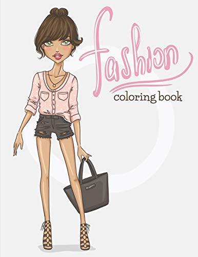 Fashion: Coloring Book