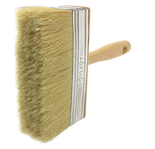 pennello da imbianchino con setole naturali, natural bristle hair, 40x140