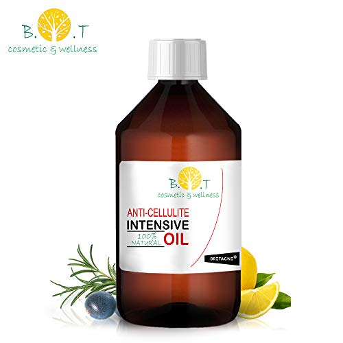 Aceite Anti Celulitis 250 ml Con Aceites Esenciales Triple...