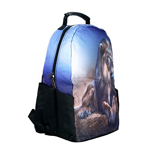 Modacubo Lion Theme Printed 20 Ltrs Laptop Backpack