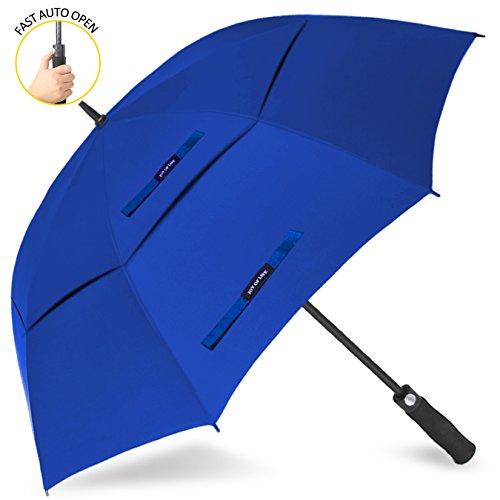 ZOMAKE Parapluie de Golf Automatique - Grand Parapluie Homme Femme adapté à Une Famille Taille...