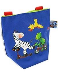 Bolsa de Bicicleta Azul Infantil de Die Lieben Sieben