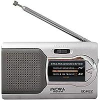 Universal Slim Am/FM Mini Radio World Receptor Estéreo Altavoces Reproductor de música de Alto Rendimiento
