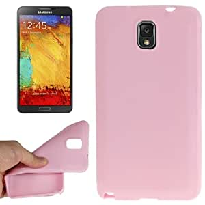 Smooth Surface TPU Protective Case for Samsung Galaxy Note 3 N9000 in Pink