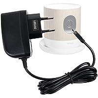 Chargeur secteur à prise murale pour Withings Home Caméra de Surveillance Wi-Fi avec Suivi de la Qualité de l'Air - charge rapide 2 amp, par DURAGADGET